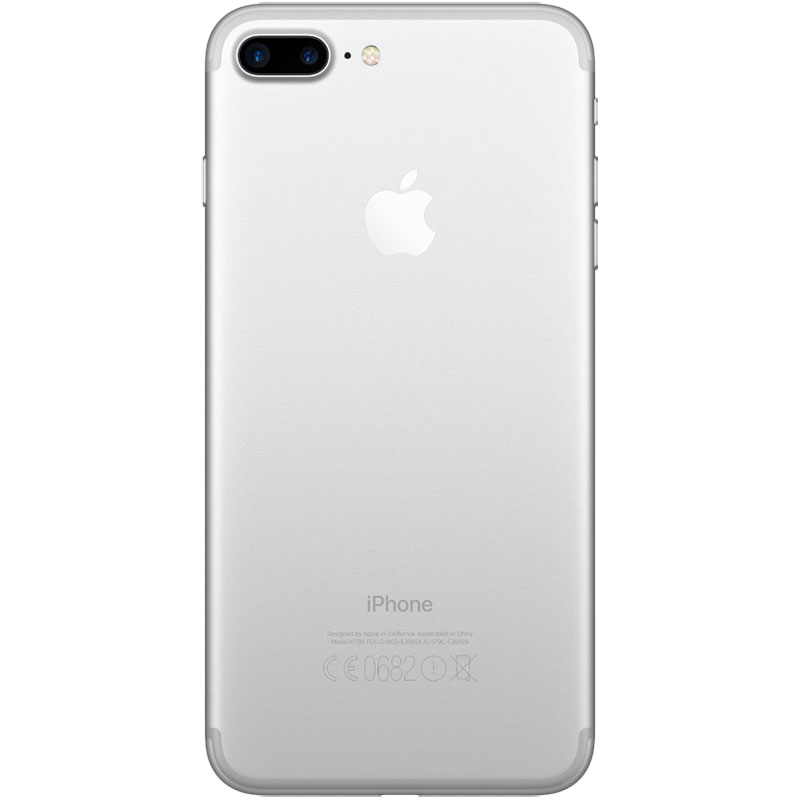 apple iphone 7 plus 32 go argent mobile smartphone apple sur. Black Bedroom Furniture Sets. Home Design Ideas