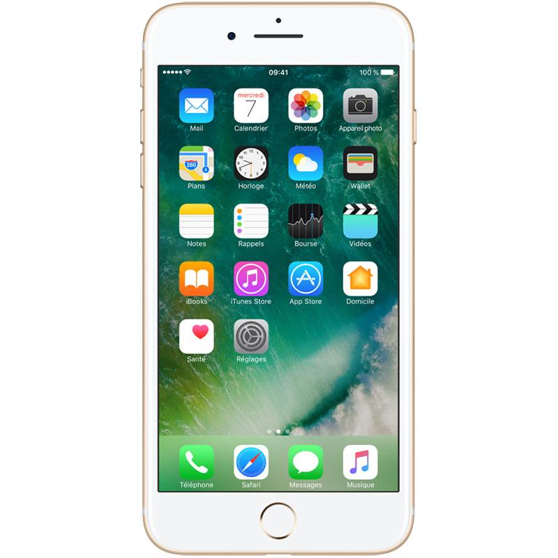 "Mobile & smartphone Apple iPhone 7 Plus 256 Go Or Smartphone 4G-LTE Advanced IP67 - Apple A10 Fusion Quad-Core 2.3 GHz - RAM 3 Go - Ecran Retina 5.5"" 1080 x 1920 - 256 Go - NFC/Bluetooth 4.2 - iOS 10"