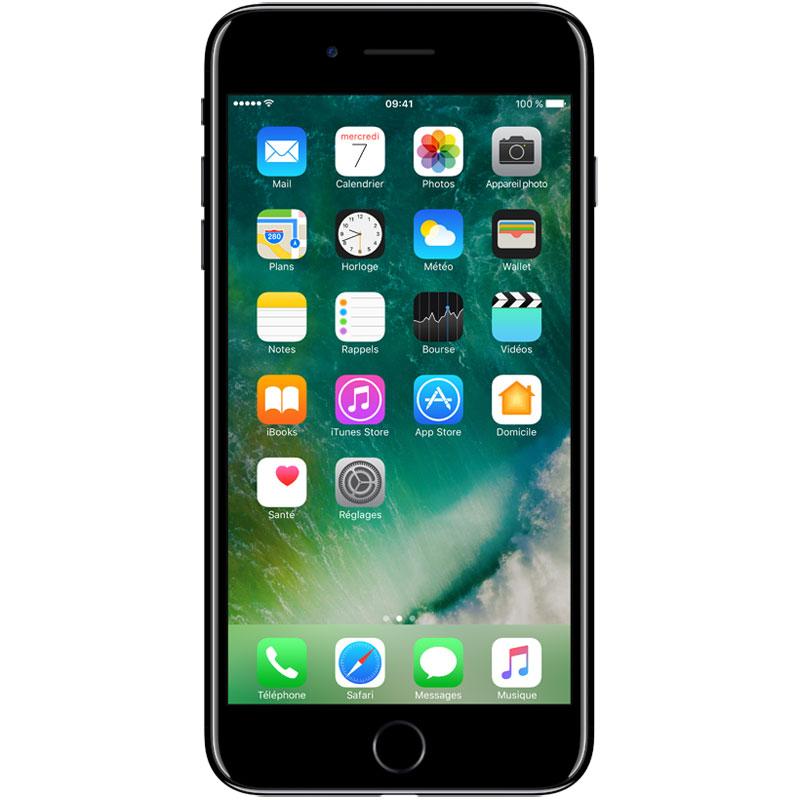 apple iphone 7 plus 128 go noir de jais mobile. Black Bedroom Furniture Sets. Home Design Ideas