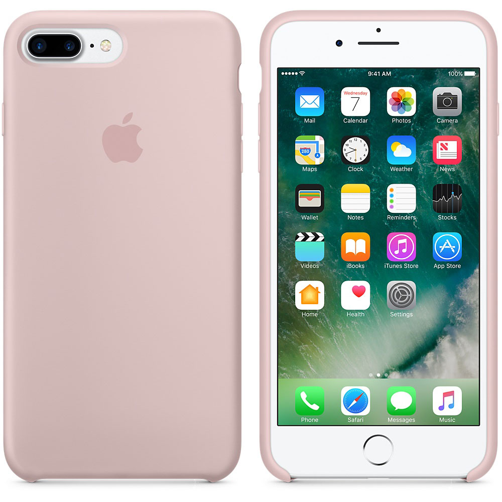 coque iphone 7 plus apple silicone