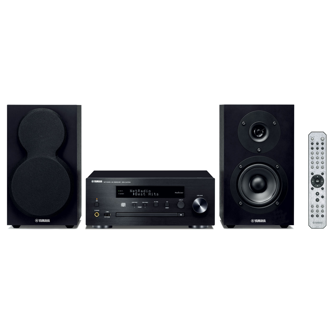 yamaha musiccast mcr n470d noir cha ne hifi yamaha sur. Black Bedroom Furniture Sets. Home Design Ideas