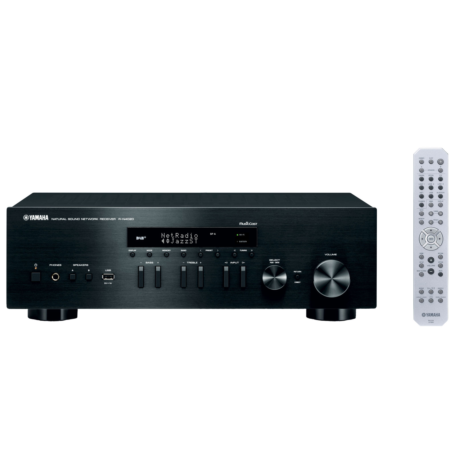 yamaha musiccast r n402d noir amplificateur hifi yamaha sur. Black Bedroom Furniture Sets. Home Design Ideas