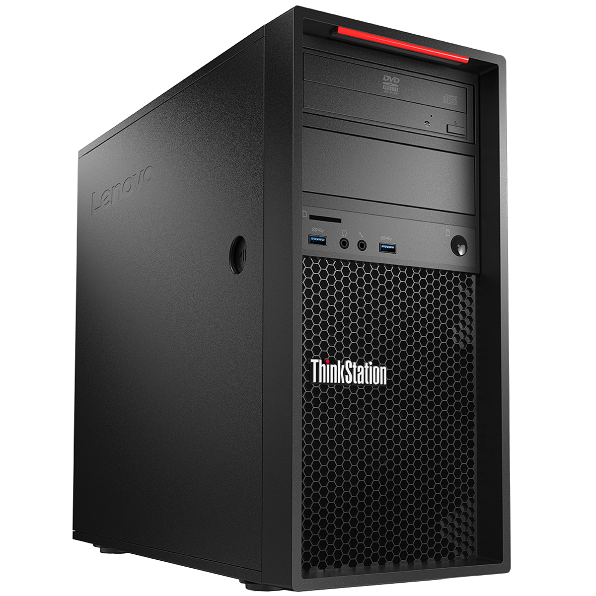 lenovo thinkstation p410 tour 30b3001bfr pc de bureau lenovo sur. Black Bedroom Furniture Sets. Home Design Ideas