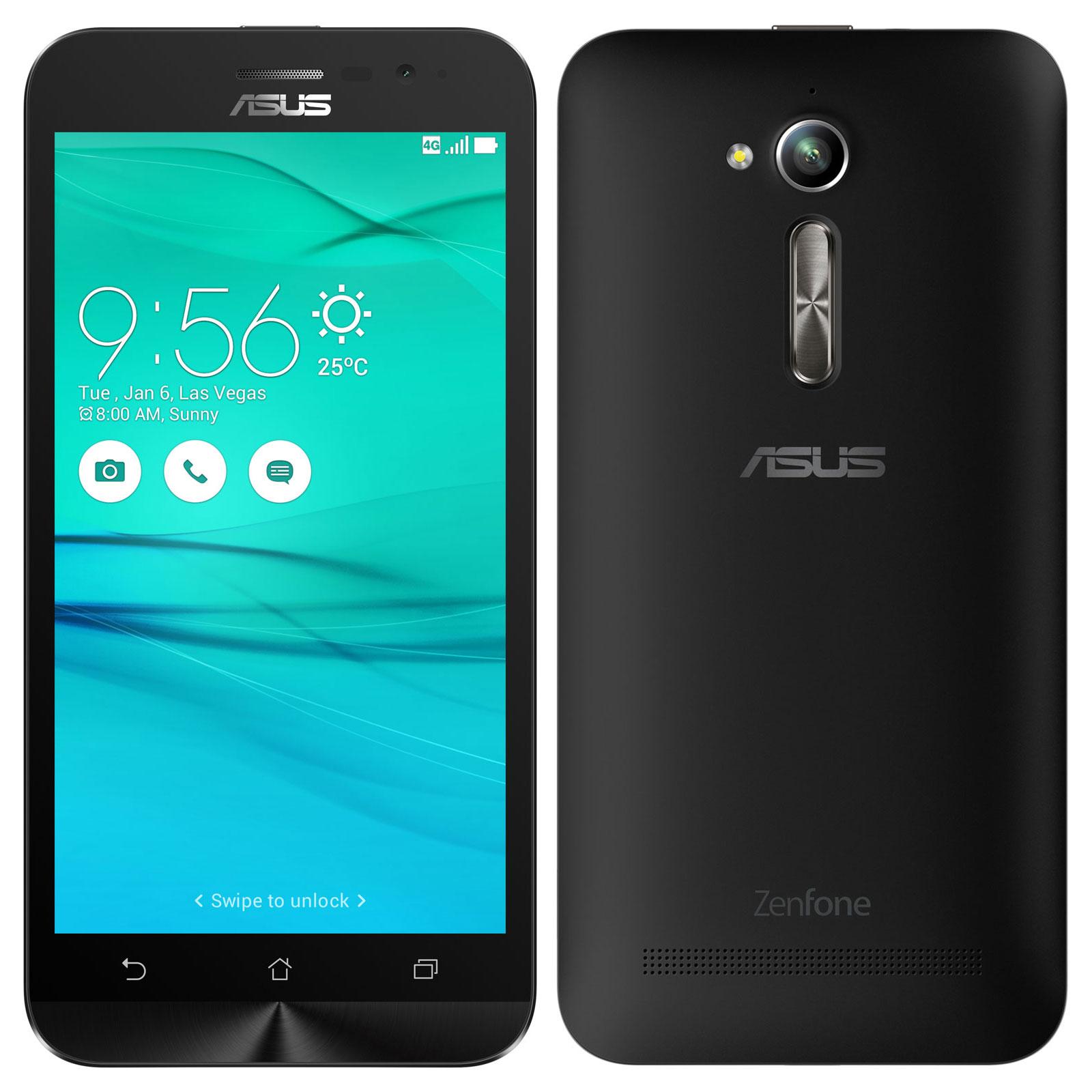 Asus Zenfone Go Zb500kl Noir Mobile Amp Smartphone Asus