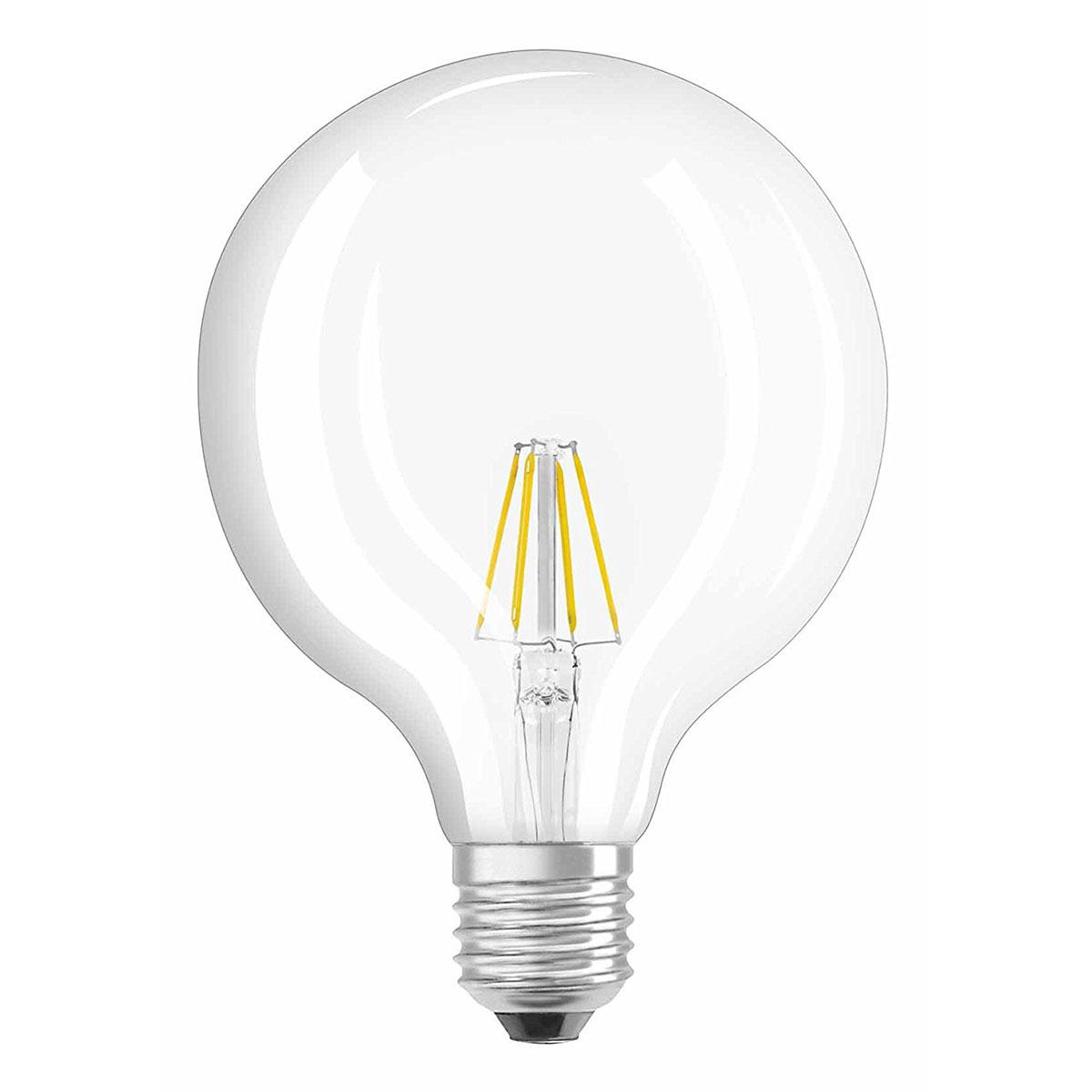 Osram Ampoule Led Retrofit Classic Globe E27 6w 60w A Ampoule