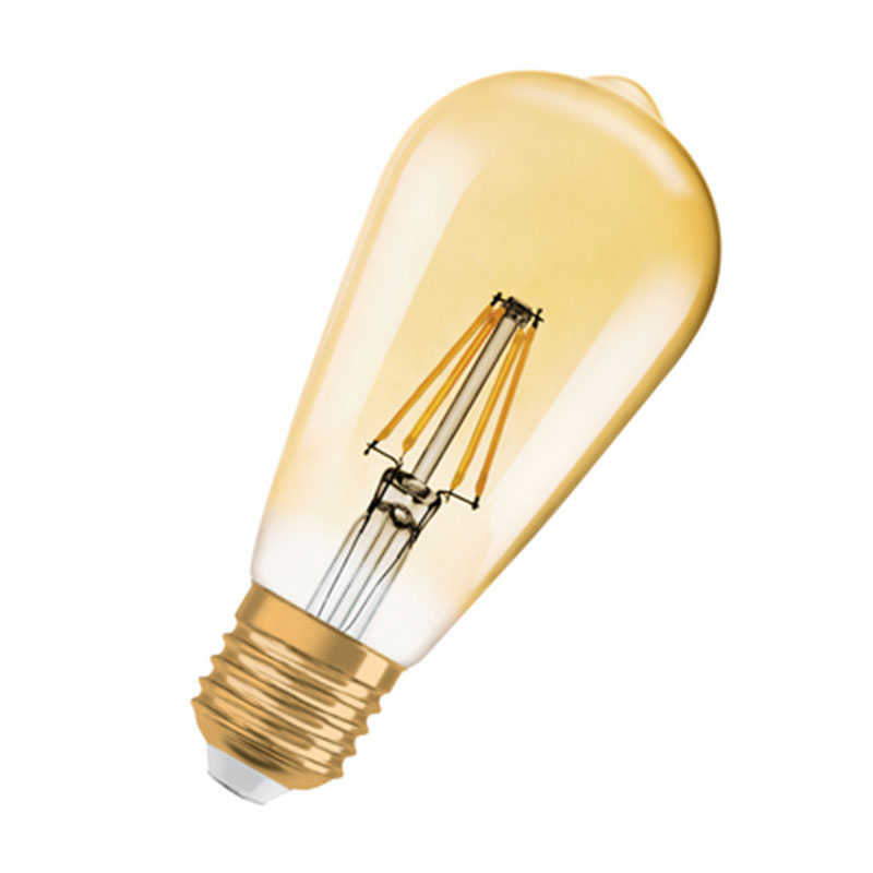osram ampoule led edison vintage e27 4w 35w a. Black Bedroom Furniture Sets. Home Design Ideas