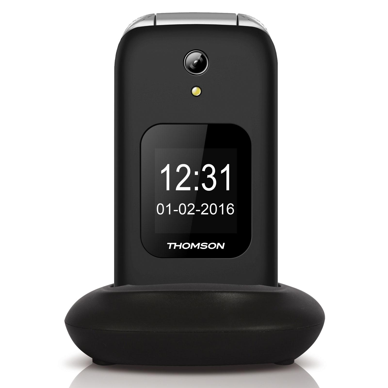 Thomson serea 66 noir mobile smartphone thomson sur for Photo ecran telephone