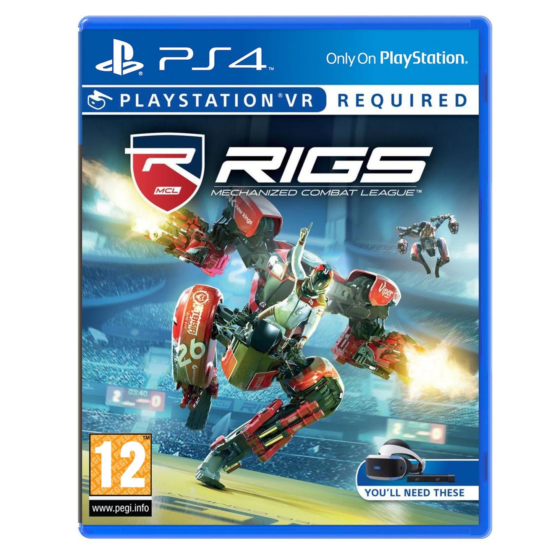 rigs mechanized combat league ps vr jeux ps4 sony interactive entertainment sur. Black Bedroom Furniture Sets. Home Design Ideas