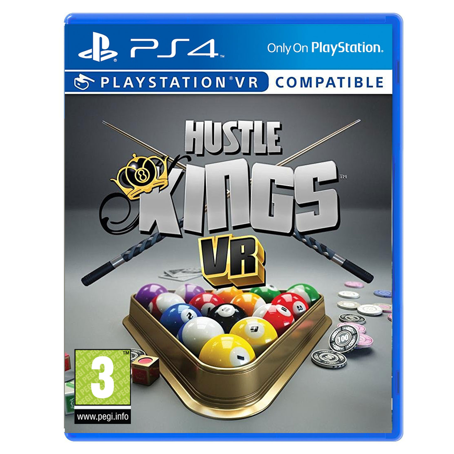 hustle kings vr ps vr jeux ps4 sony interactive entertainment sur. Black Bedroom Furniture Sets. Home Design Ideas