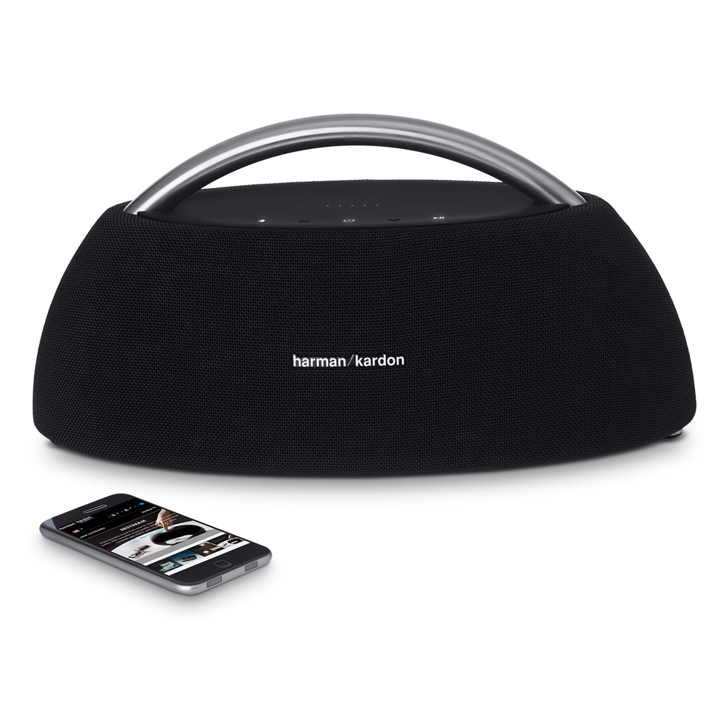 harman kardon go play noir dock enceinte bluetooth. Black Bedroom Furniture Sets. Home Design Ideas
