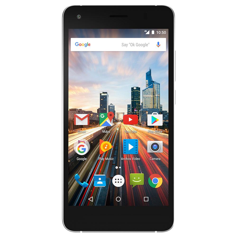 "Mobile & smartphone Archos 50f Helium Bleu Smartphone 4G-LTE Dual SIM - Snapdragon 210 Quad-Core 1.1 GHz - RAM 2 Go - Ecran tactile 5"" 720 x 1280 - 32 Go - Bluetooth 4.0 - 2000 mAh - Android 6.0"