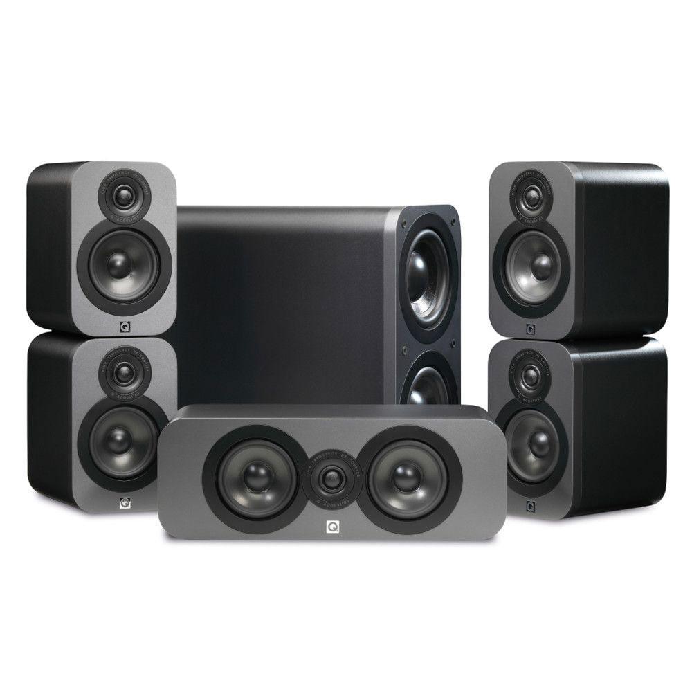 Q acoustics 3000 graphite enceintes hifi q acoustics sur - Hifi video home cinema magazine ...