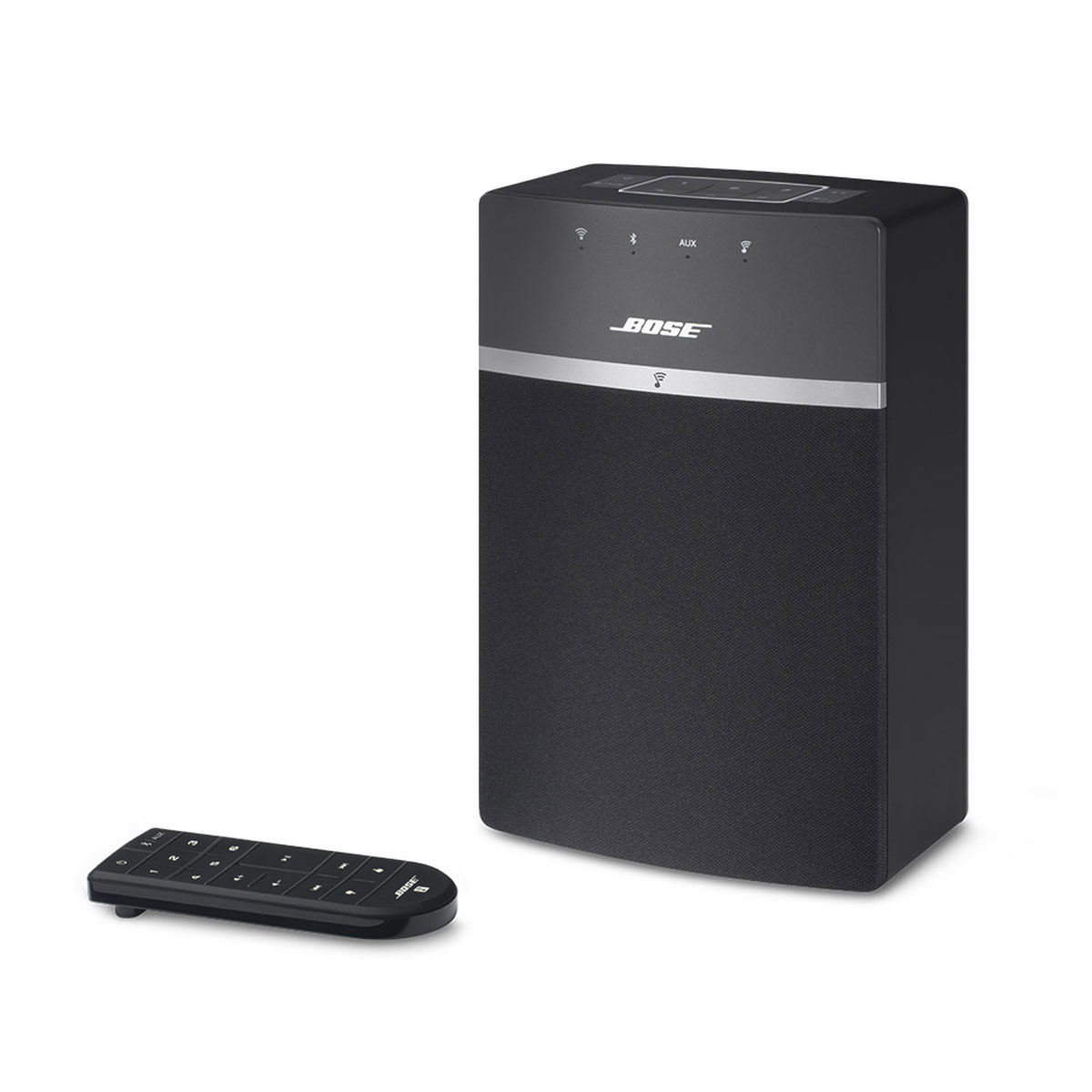 bose soundtouch 10 twin pack noir dock enceinte bluetooth bose sur. Black Bedroom Furniture Sets. Home Design Ideas