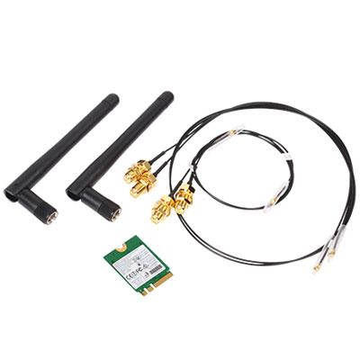 Accessoires barebone Shuttle WLN-M Kit Wi-Fi + Bluetooth pour barebone Shuttle DH110, DH110 SE, SH110R4, SZ170R8 V2, XH110/XH110V