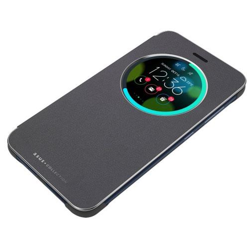 Asus View Flip Noir Asus Zenfone 3 Laser Zc551kl Etui