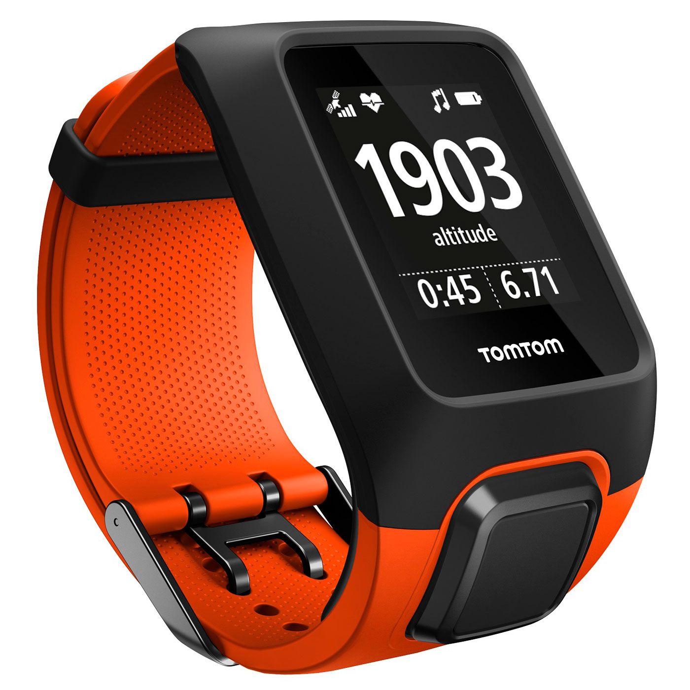 tomtom adventurer orange montre running tomtom sur. Black Bedroom Furniture Sets. Home Design Ideas