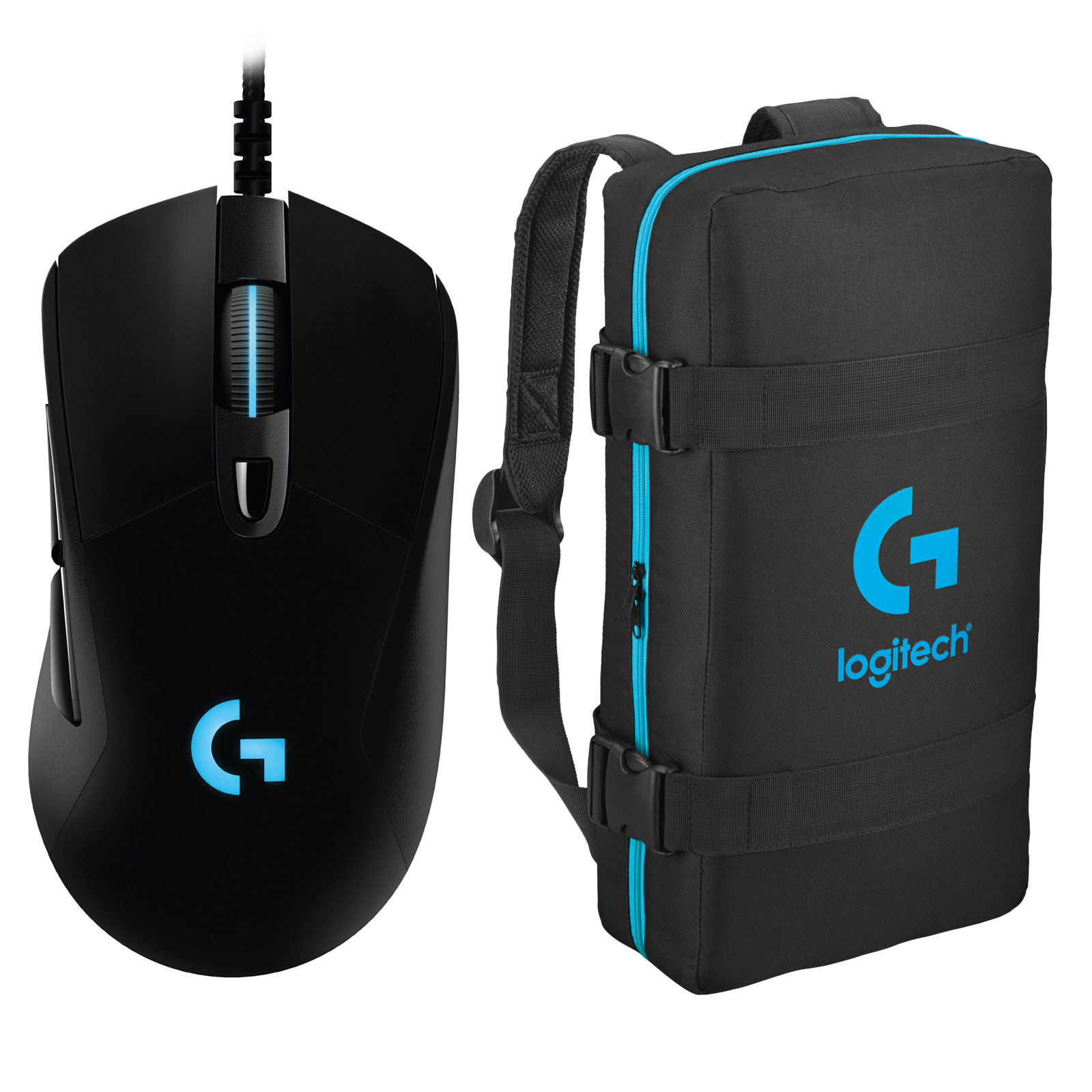 logitech g403 prodigy wired gaming mouse esport bag offert souris pc logitech sur. Black Bedroom Furniture Sets. Home Design Ideas