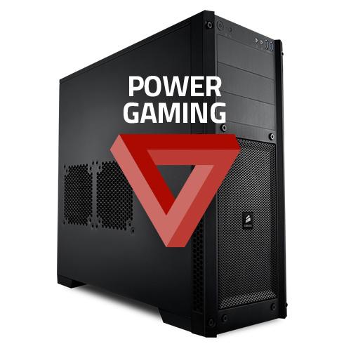 PC de bureau PC HardWare.fr Power Gaming GPUFlex (monté - sans OS) Core i5-6600K, GPU au choix, 16 Go de DDR4, SSD 275 Go + HDD 2 To (monté)