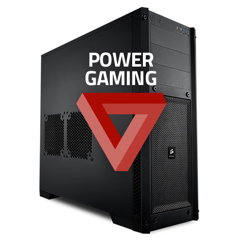 pc power gaming plus windows 10 famille 64 bits mont pc de bureau. Black Bedroom Furniture Sets. Home Design Ideas