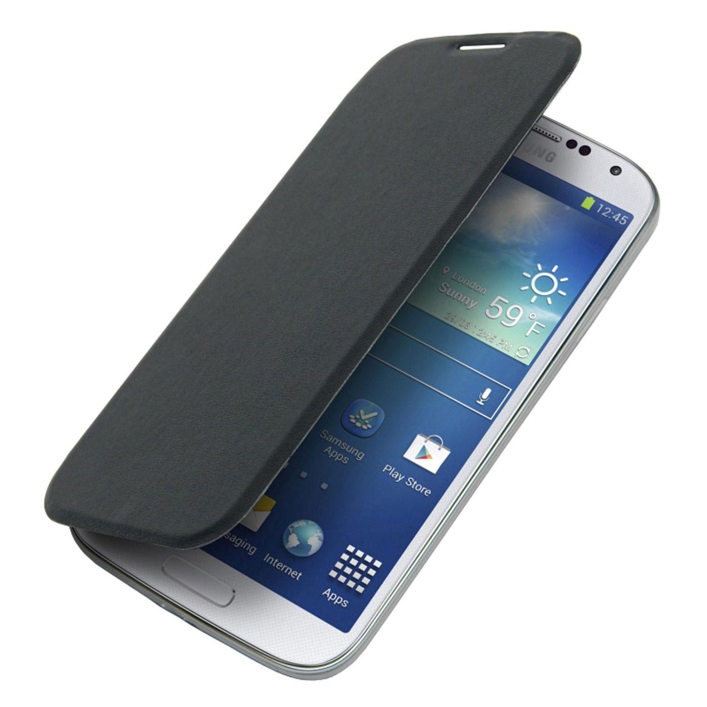 Etui téléphone Akashi Etui Folio Noir Galaxy J5 2016 Etui folio noir en simili cuir pour Samsung Galaxy J5 2016