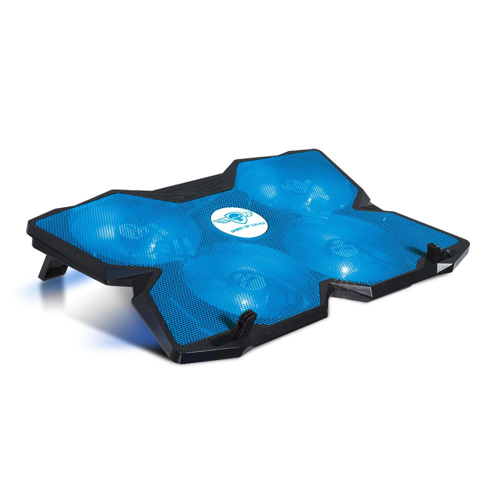 spirit of gamer airblade 500 bleu ventilateur pc portable spirit of gamer sur. Black Bedroom Furniture Sets. Home Design Ideas
