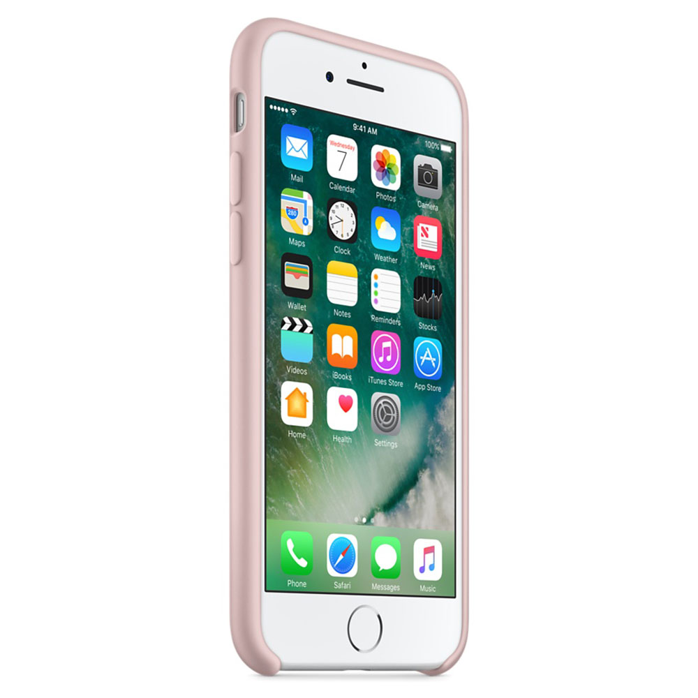 coque iphone 7 silicone rose des sables