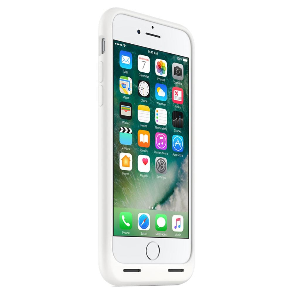 apple smart battery case blanc apple iphone 7 etui. Black Bedroom Furniture Sets. Home Design Ideas