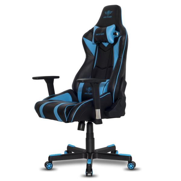 spirit of gamer viper bleu fauteuil gamer spirit of gamer sur. Black Bedroom Furniture Sets. Home Design Ideas