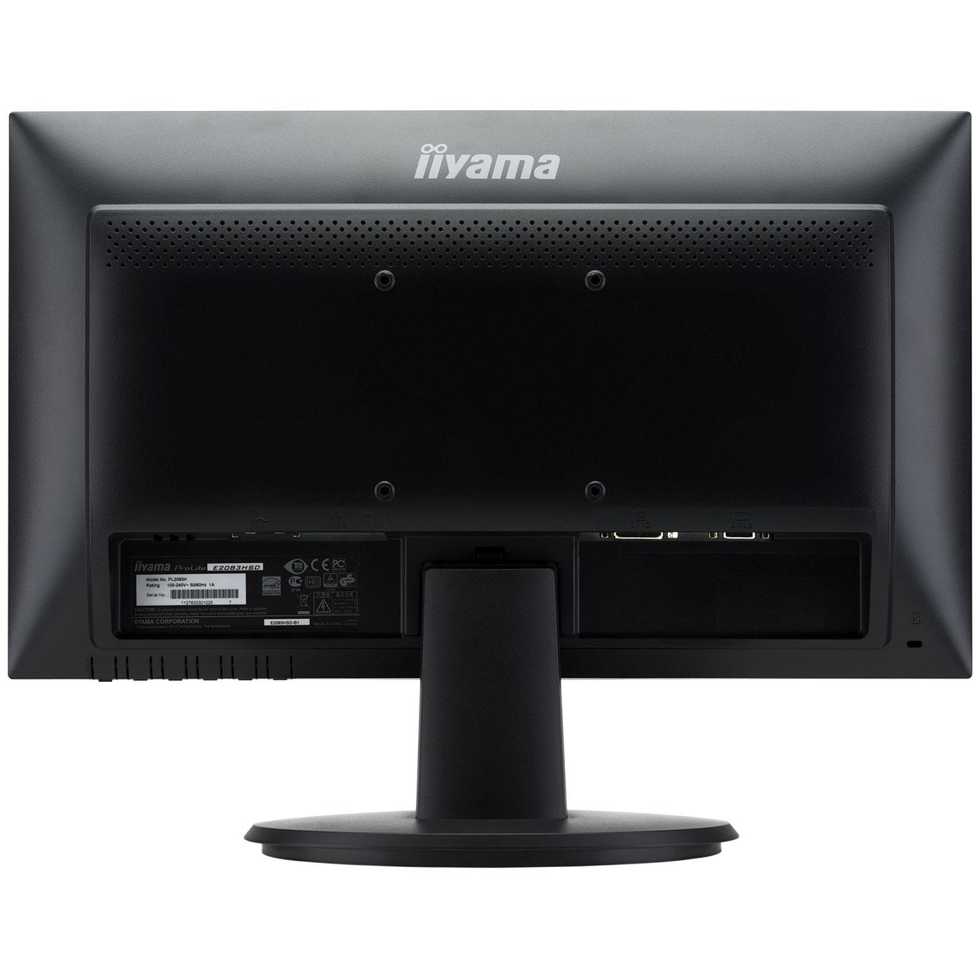 Iiyama 19 5 led prolite e2083hsd b1 ecran pc iiyama for Eclairage ecran pc