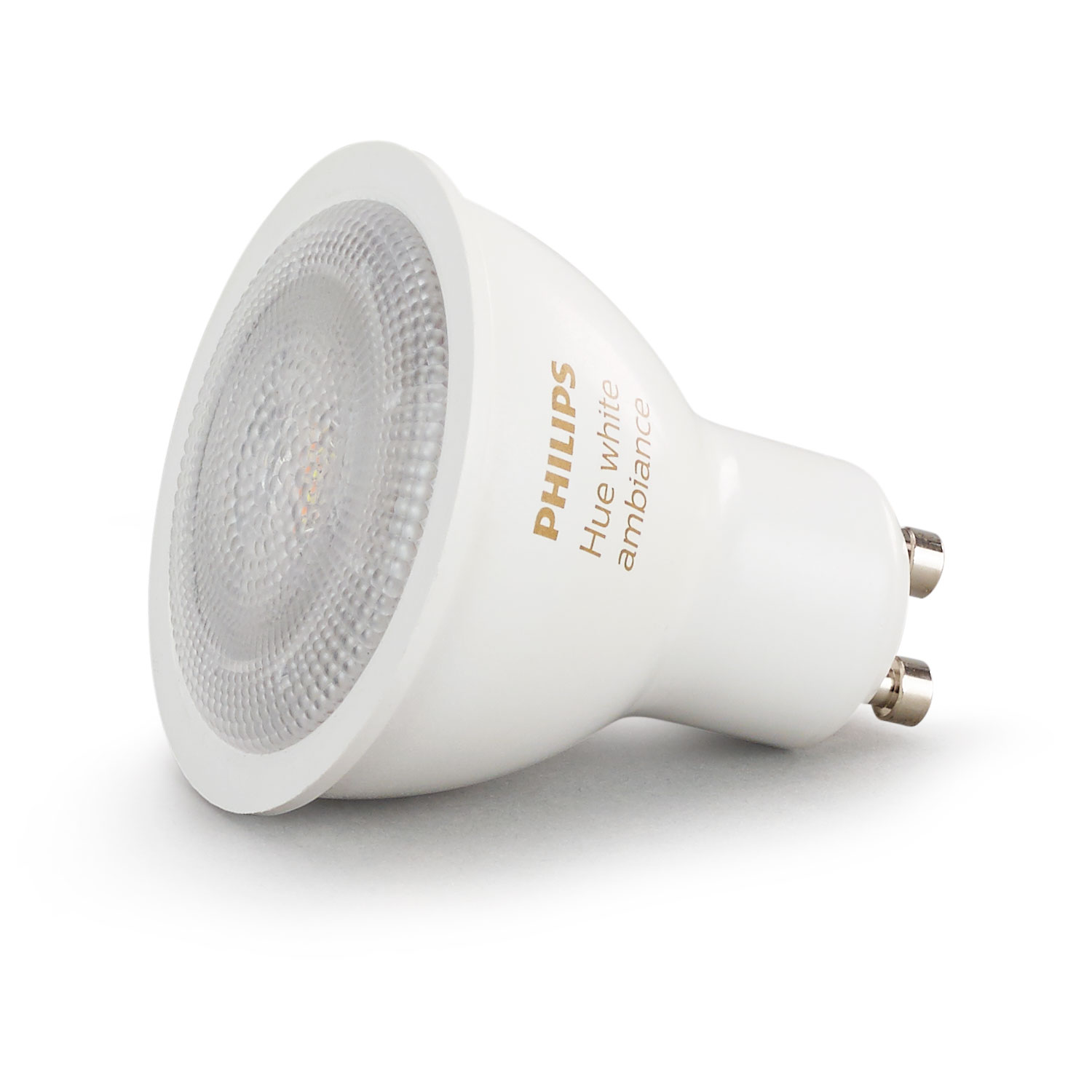 philips hue white ambiance gu10 ampoule connect e philips sur. Black Bedroom Furniture Sets. Home Design Ideas