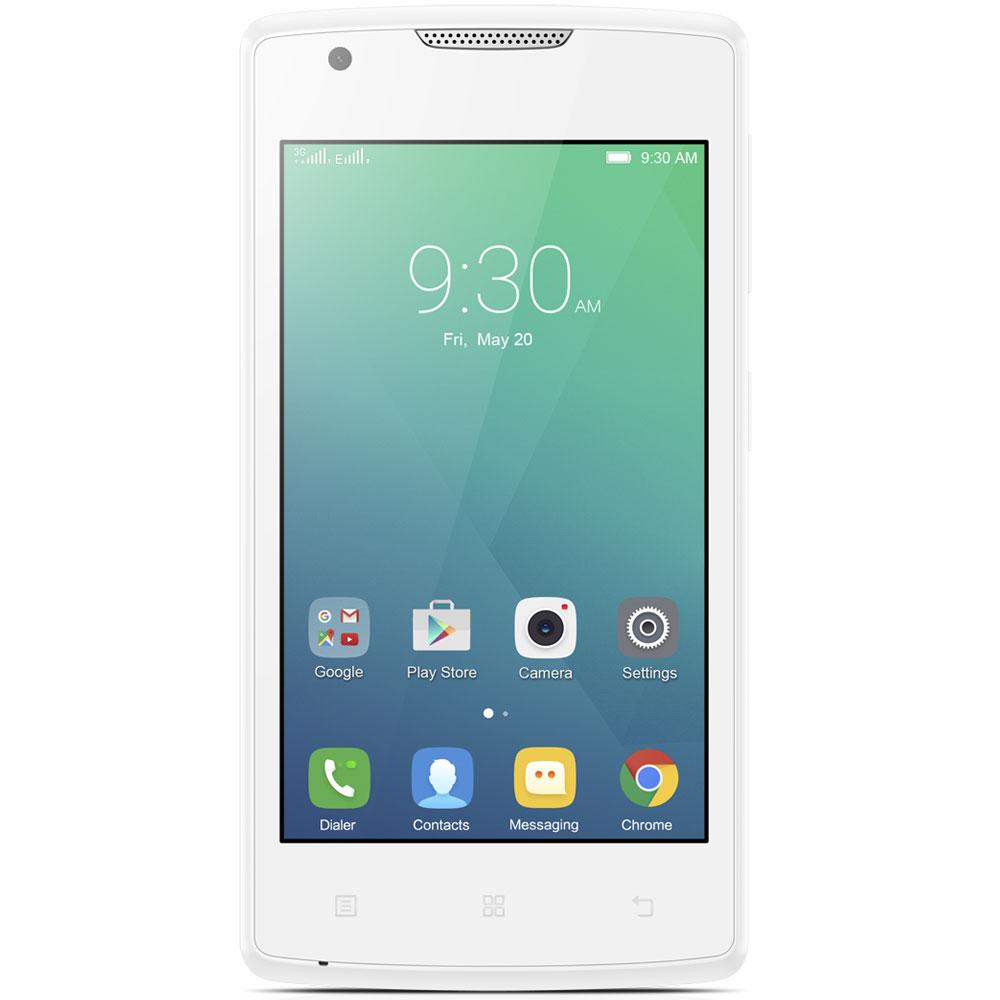 Lenovo A Plus Blanc Smartphone 3G Dual SIM