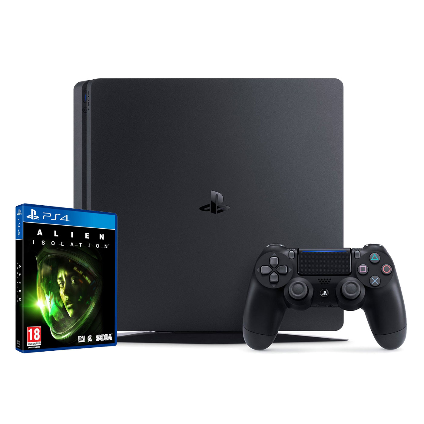 sony playstation 4 slim 500 go alien isolation ps4 offert console ps4 sony. Black Bedroom Furniture Sets. Home Design Ideas
