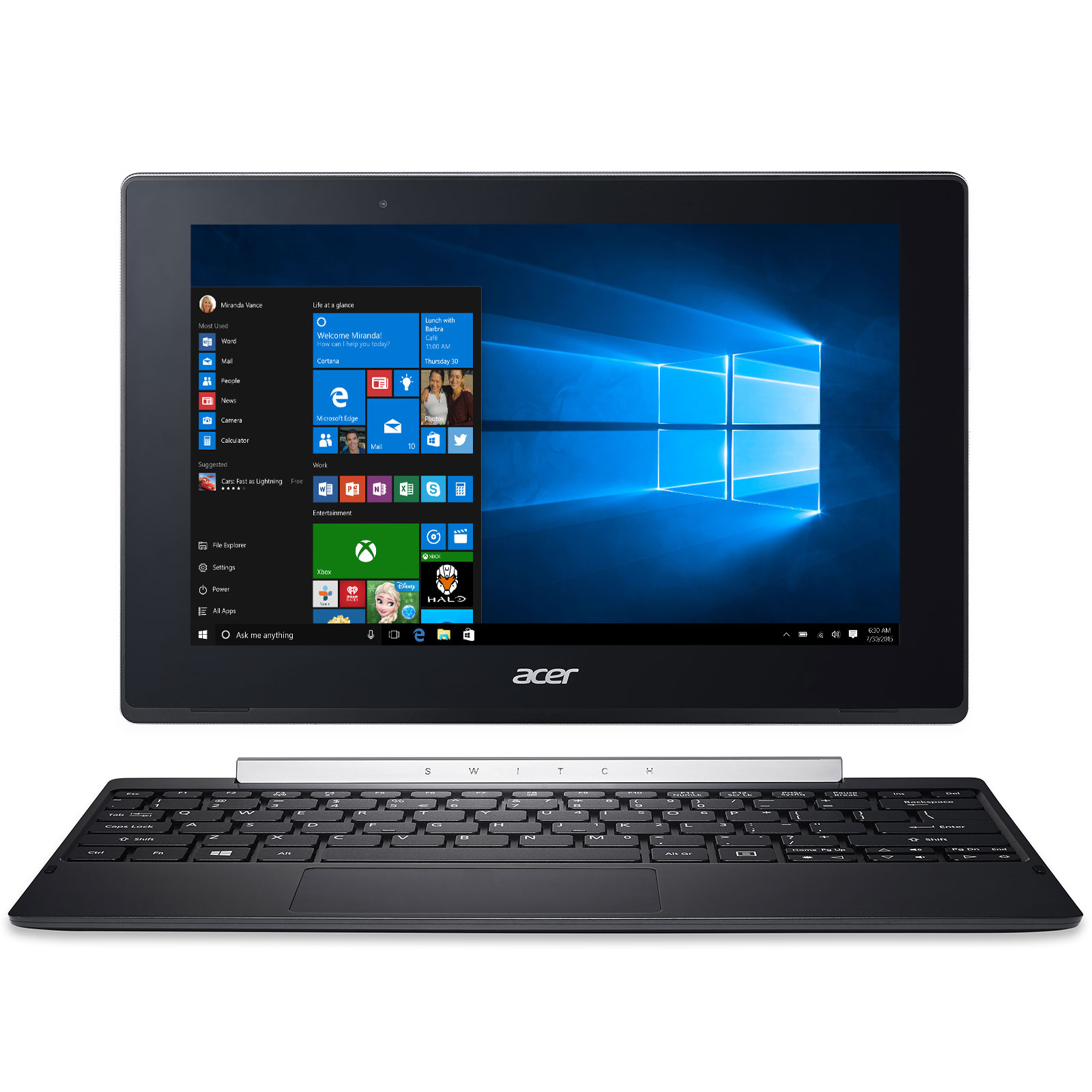 acer aspire switch 10 sw5 017 17bu tablette tactile acer sur. Black Bedroom Furniture Sets. Home Design Ideas