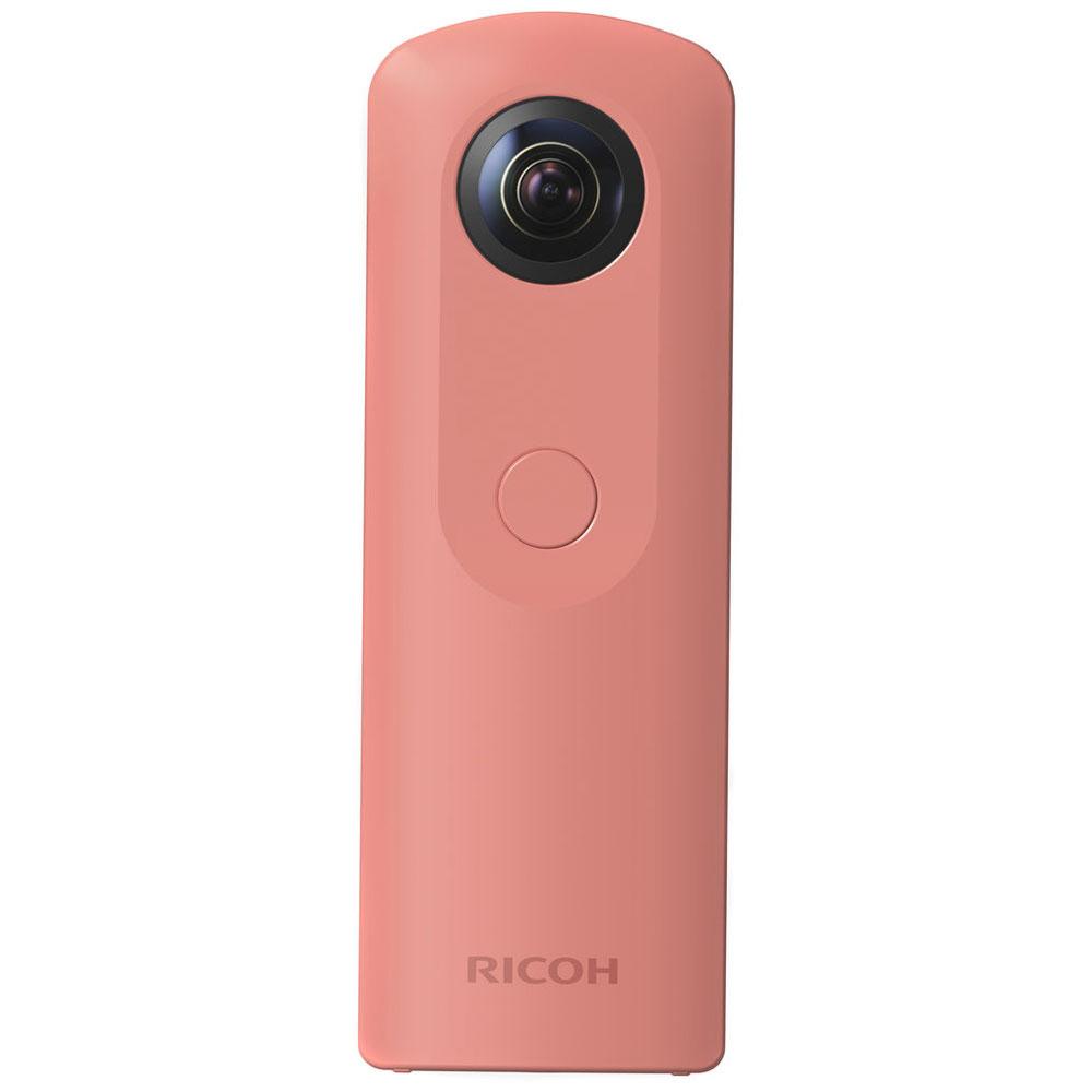 Caméra sportive Ricoh Theta SC Rose Caméra 360° Full HD 30 ips avec Wi-Fi