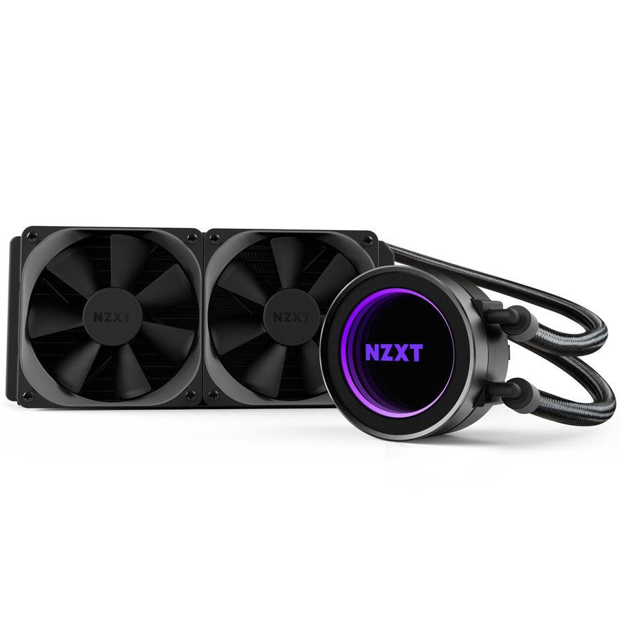 Ventilateur processeur NZXT Kraken X52 Kit de Watercooling tout-en-un pour processeur avec 2 ventilateurs 120mm