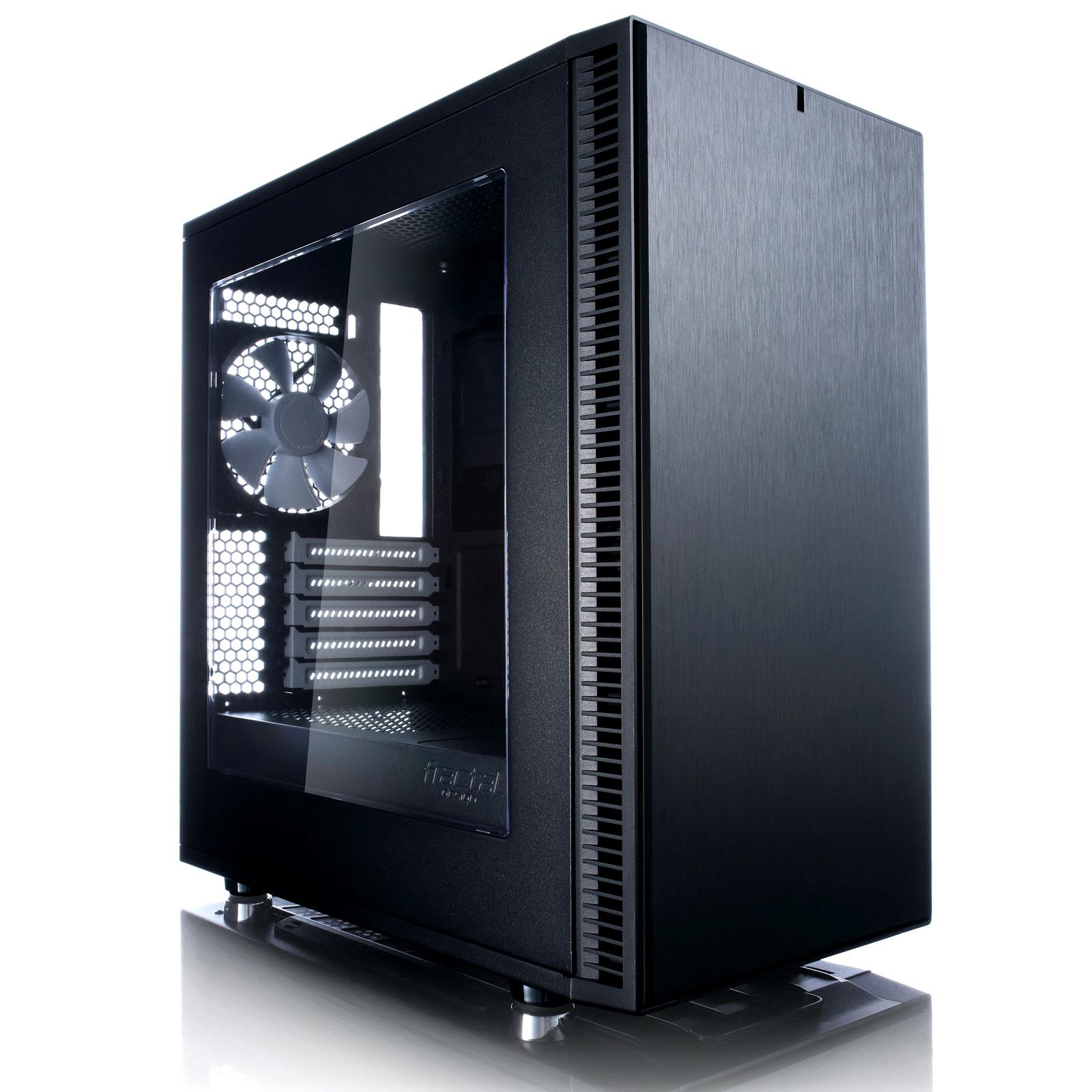 fractal design define mini c window noir bo tier pc. Black Bedroom Furniture Sets. Home Design Ideas