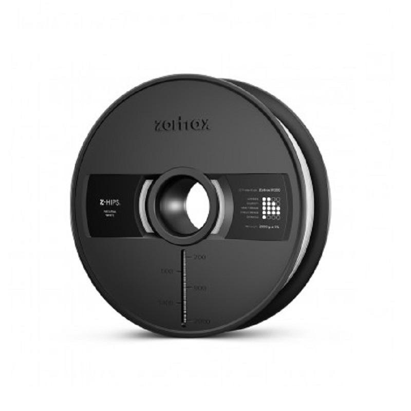 Filament 3D Zortrax Z-HIPS M300 2Kg - Noir Bobine haute résistance 1.75mm pour imprimante 3D