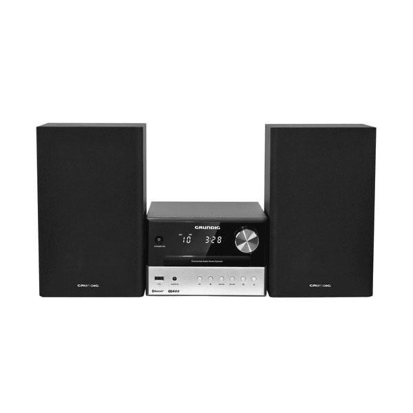 Chaîne Hifi Grundig M1000BT Noir Micro-chaîne CD/CD-R/CD-RW MP3 Bluetooth avec port USB 2.0 et entrée auxiliaire