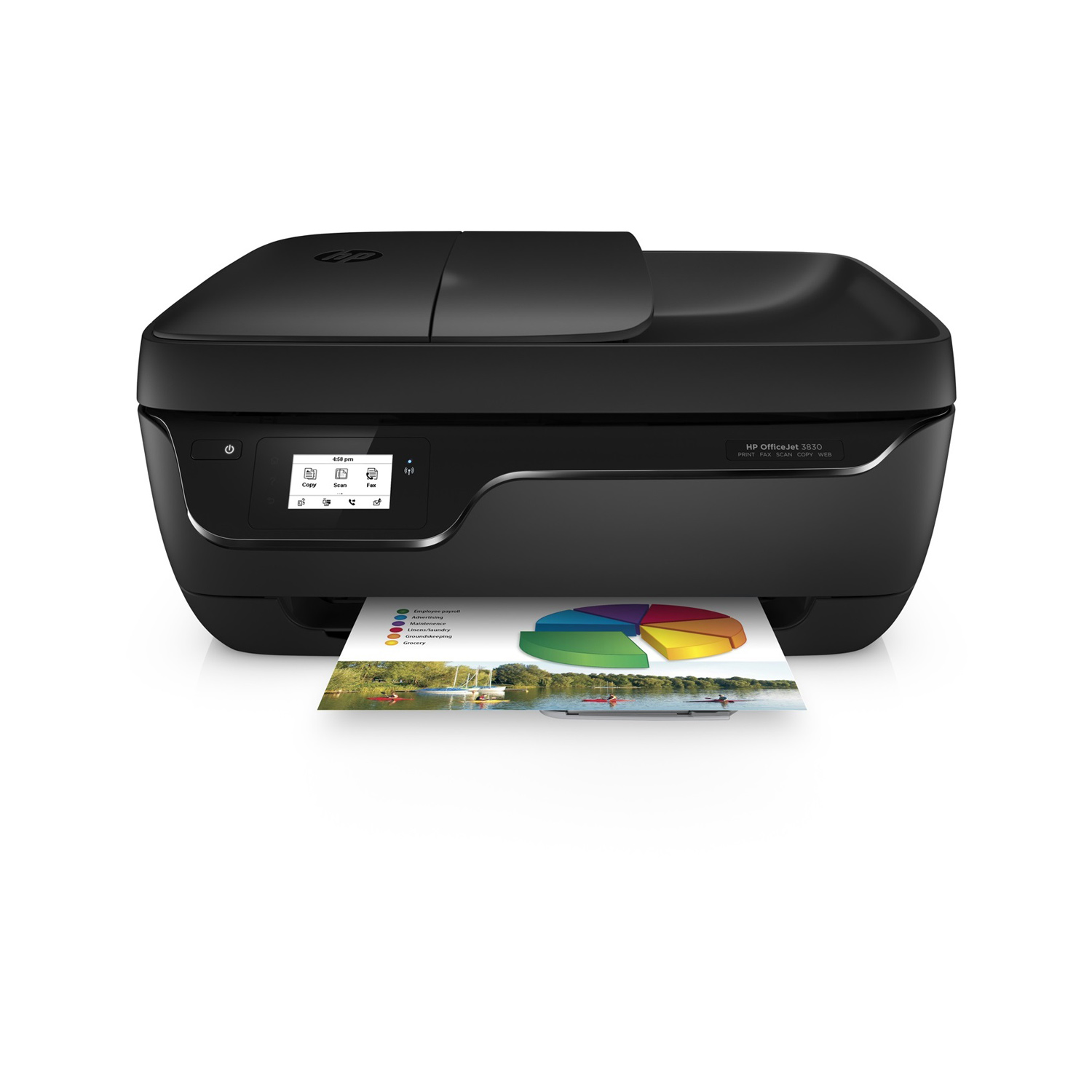 hp officejet 3833 imprimante multifonction hp sur. Black Bedroom Furniture Sets. Home Design Ideas