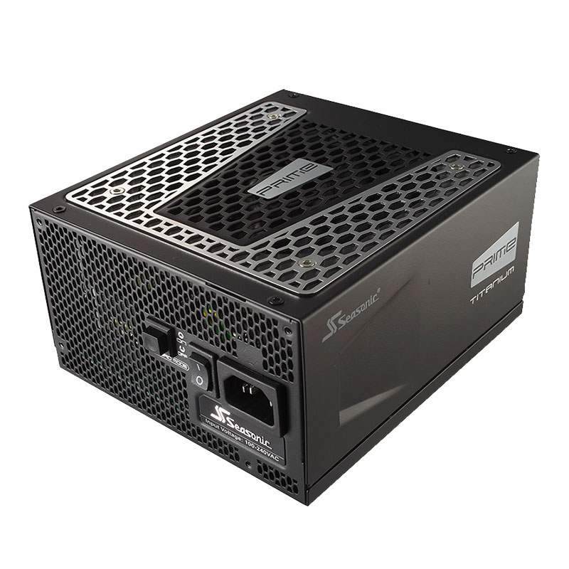 Alimentation PC Seasonic PRIME Ultra 750 W Titanium Alimentation modulaire 750W ATX 12V/EPS 12V - 80PLUS Titanium