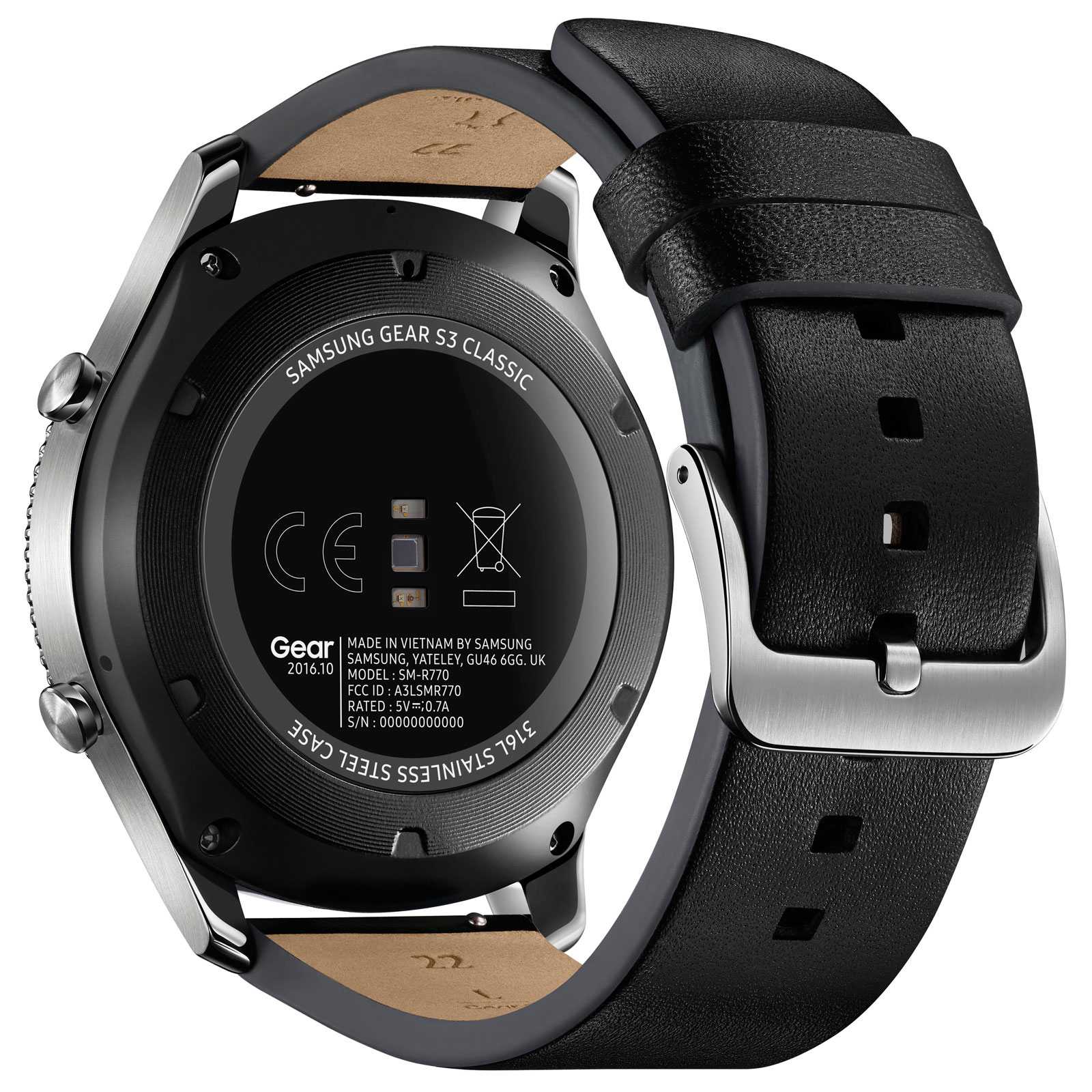 samsung gear s3 classic argent montre connect e samsung sur. Black Bedroom Furniture Sets. Home Design Ideas