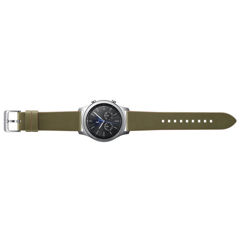samsung bracelet classic gear s3 vert montre connect e samsung sur. Black Bedroom Furniture Sets. Home Design Ideas