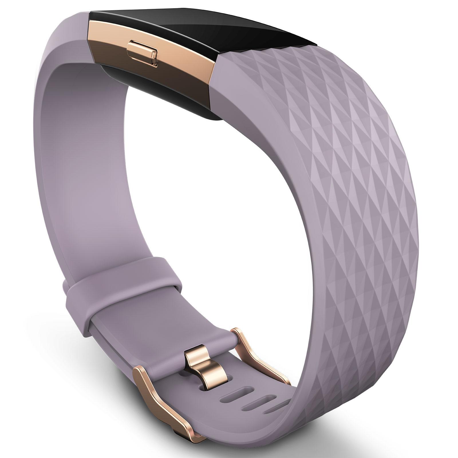 fitbit charge 2 lavande s bracelet connect fitbit sur. Black Bedroom Furniture Sets. Home Design Ideas