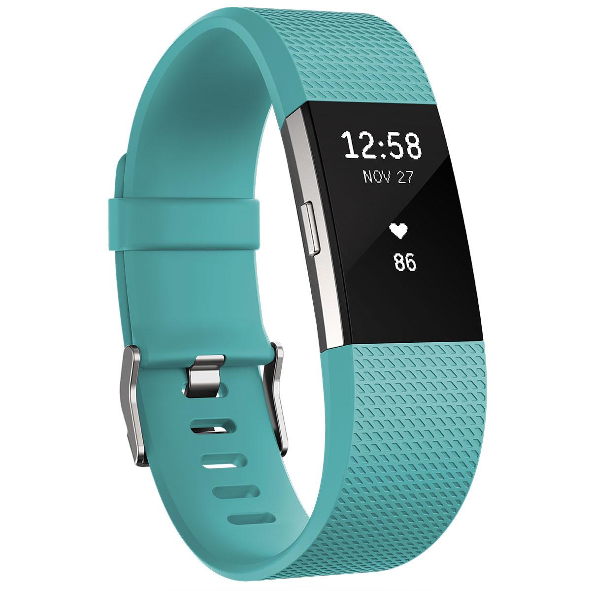 fitbit charge 2 turquoise l bracelet connect fitbit sur. Black Bedroom Furniture Sets. Home Design Ideas