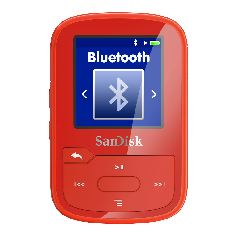 sandisk clip sport plus rouge lecteur mp3 ipod sandisk sur. Black Bedroom Furniture Sets. Home Design Ideas