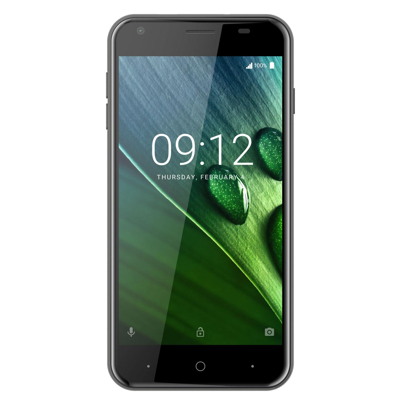 "Mobile & smartphone Acer Liquid Z6 Noir Smartphone 4G-LTE Dual SIM - MediaTek MT6737 Quad-Core 1.3 GHz - RAM 1 Go - Ecran tactile 5"" 720 x 1280 - 8 Go - Bluetooth 4.0 - 2000 mAh - Android 6.0"