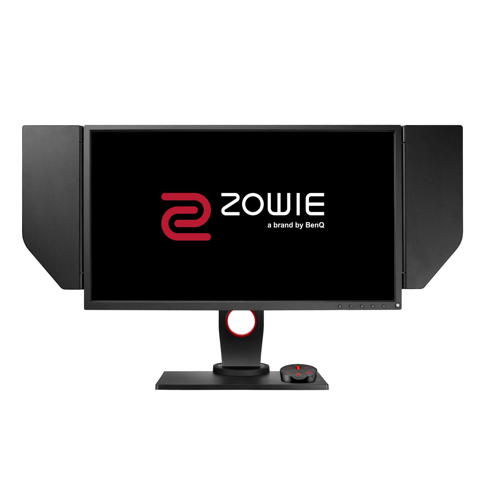 """Ecran PC BenQ Zowie 24.5"""" LED - XL2540 1920 x 1080 pixels - 1 ms (gris à gris) - Format large 16/9 - DVI-DL/HDMI/DP1.2/USB - Pivot - S Switch - Noir (garantie constructeur 3 ans)"""