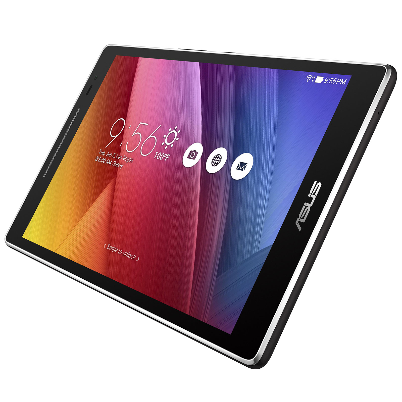 asus zenpad 8 0 z380m 6a023a noir tablette tactile asus sur. Black Bedroom Furniture Sets. Home Design Ideas
