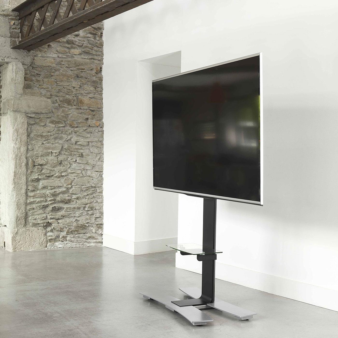 erard will 1600 xl noir support mural tv erard group sur. Black Bedroom Furniture Sets. Home Design Ideas