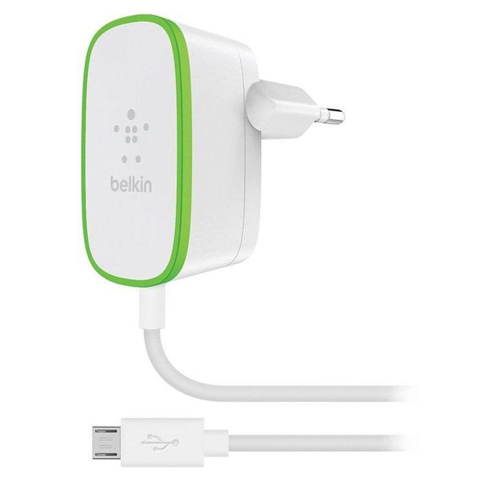 Chargeur téléphone Belkin Chargeur secteur Blanc (F7U009VF06) Chargeur secteur avec câble micro-USB